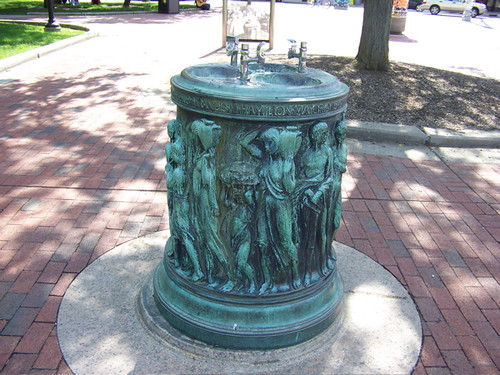 Public Drinking Fountain