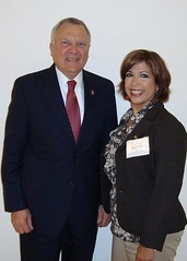 Aimee B. with Rep. Deal