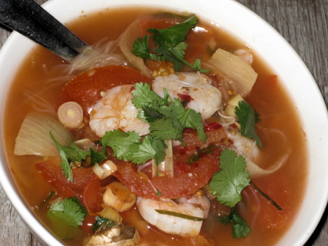 G-made tom yum soup