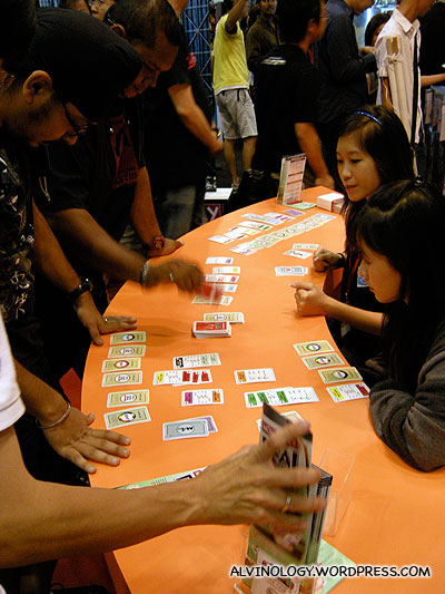 Demo for the Monopoly card game - I love this game!