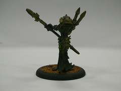 Iron Lich Asphyxious side (Leitheusser) Tags: gaming warmachine cryx
