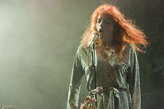 Florence from Florence & the Machine Freedom Festival 2009 (garystafford.co.uk) Tags: uk music rock photography lights florence guitar stage group band machine atmosphere pop east riding hull welch garystafford hullfreedomfestival2009