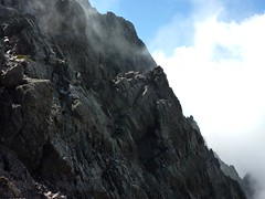 Bocca di Sierra Pianella : les parois de la Pointe Lejosne