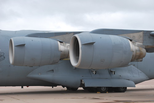 pratt and whitney F117-PW-100 L wing on a c17 globemaster3