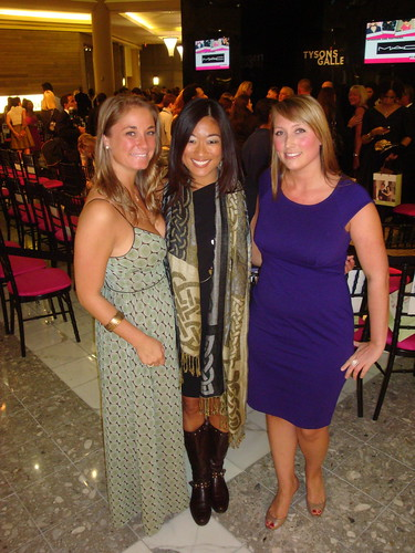Heather Halsey, me and Heather Guay at ALL ACCESS: Fashion in Tysons Galleria 2009