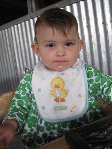 Grumpy little miss