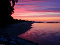 ... (anka.anka28) Tags: pink blue sunset sea sky cloud sun water clouds poland polska balticsea explore niebieski woda gdynia morze batyk chmury niebo chmura pomorze rowy oksywie explored zatokapucka 450d canon450d formoza platinumheartaward