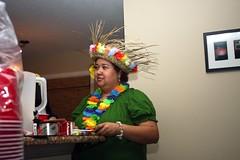 Birthday Party (Devilina07) Tags: birthday friends party cake september luau hawaiian tiki mybirthday mybirthdayparty tikicake