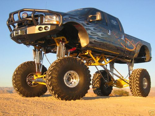 big lifted truck