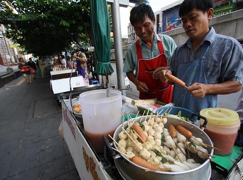 Street Vendors by Kojach.