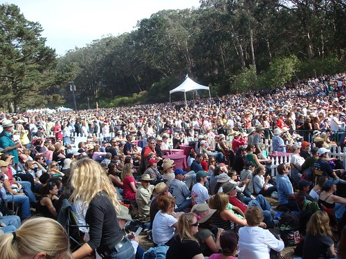Bluegrass-lovers by the thousands at HSB 2008 (pic courtesy of the european bluegrass music association blog)