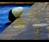 The white cap..., (trininick) Tags: white pool girl with guess cap tobago i moodcreations
