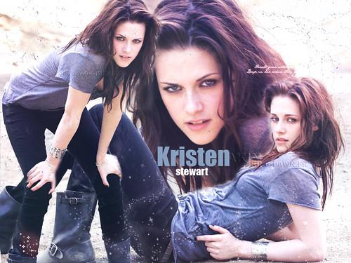 Kristen Stewart in photoshop EW by Dellzz.