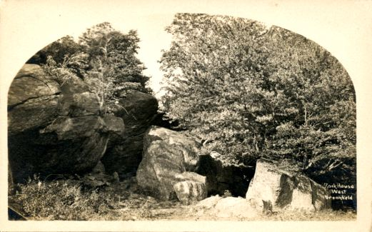 Rock House; early 1900's postcard