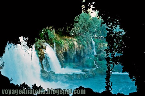 Düden Waterfalls, Antalya by voyageAnatolia.blogspot.com