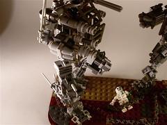 Battle Mech D-19 (The Wild Eskimo) Tags: lego battle mech apoc c18 d19 apocalego