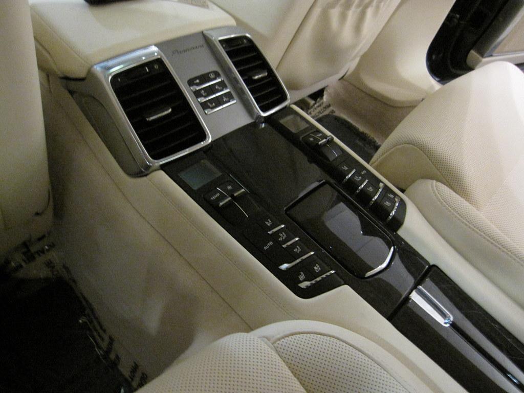 Porsche Panamera Rear Interior