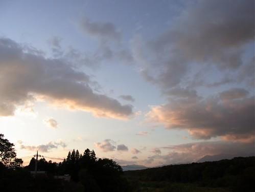 Creamy sky