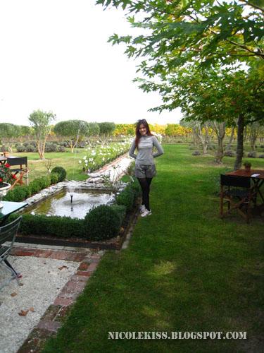 standing in herzog garden