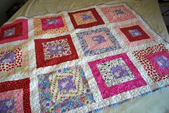 Finished Princess Quilt