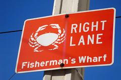 Right Lane, Fisherman's Wharf
