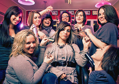 The Strand Hair Salon (Petey Photography | fortysixtyphoto.com) Tags: pink girls cute promo women pretty purple hairdresser hairsalon salon 1855mm hott gels softbox beautifulgirls petey alienbees 4060 b800 strobist strobistportrait peteyphotography wwwpeteyphotographycom fortysixty fortysixtyphotocom thestranddecemeberphotoshoot bandstrobist