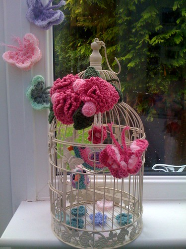 'Crocheted Butterflies'.