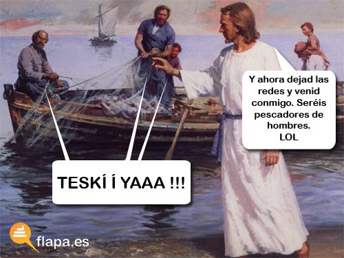 jesucristo pescador de hombres