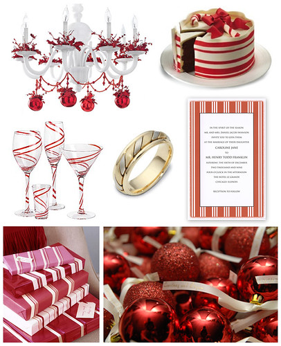 Candy Cane Wedding