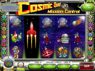 free Cosmic Quest Episode One slot free spins