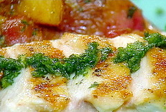 Grilled Cicken with Gremolata