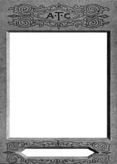 ATC-card / Artist Trading Card template