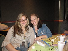 Shea and her Mom in J. Murphy's Class!