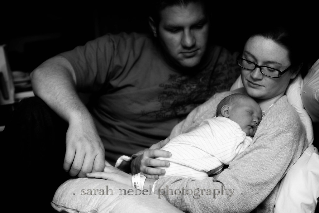 . mommy, daddy and liam .