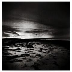 tracks (carmen/) Tags: film analog holga kodak autaut desertedlandscapes