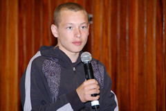 West Belfast Youth Talks Back 5-8-09  (84) (File an Phobail) Tags: ireland festival radio community tour events culture fein gaeilge tours gaelic stormont sdlp dup uup westbelfast sinnfin feile westbelfastfestival feilefm allianceparty feileanphobail