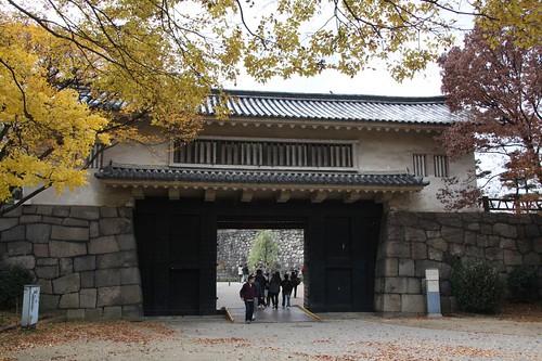 青屋門 Aoya-mon Gate