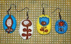 orecchini01_mini (happy.coridon) Tags: felt feltro earing orecchini
