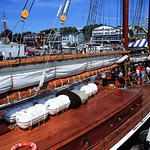 Lunenburg: Bluenose II Deck