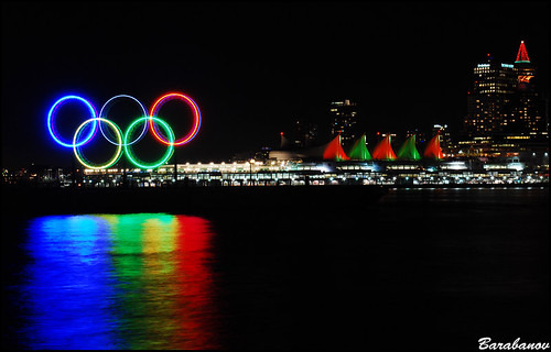 Olympics Rings Vancouver 2010