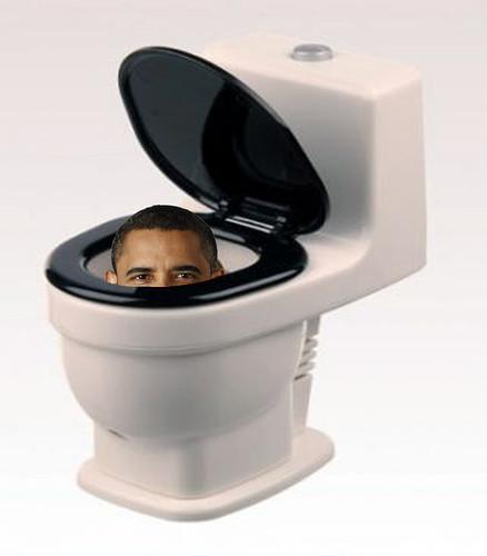 Obama flush