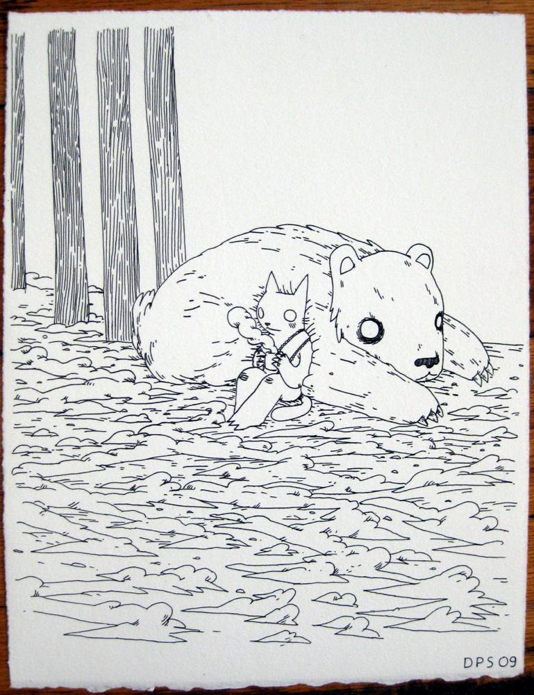 Resting on Bear