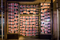 $39 (Digiart2001 | jason.kuffer) Tags: nyc newyorkcity holiday shop retail night evening store closed sale manhattan nine front midtown gothamist sings 39 thirty canon5dmarkii
