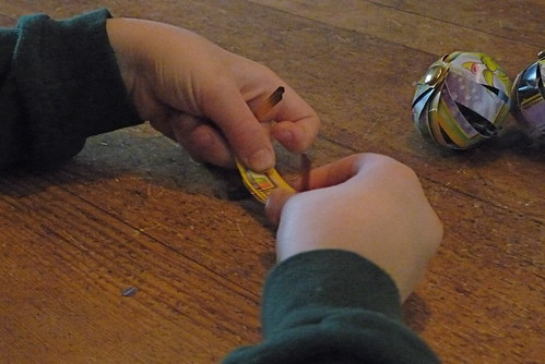 assembling the ornaments