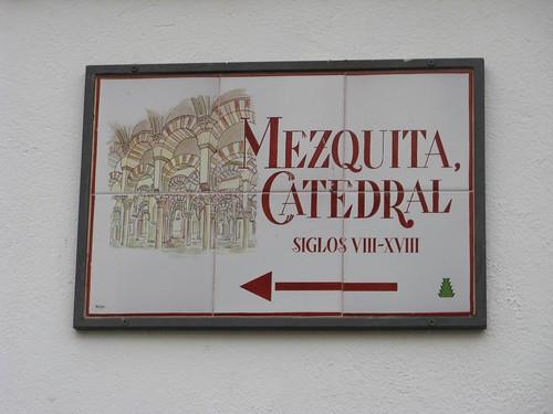 Mesquita catedral de Córdoba, Espanha; Dezembro 2009