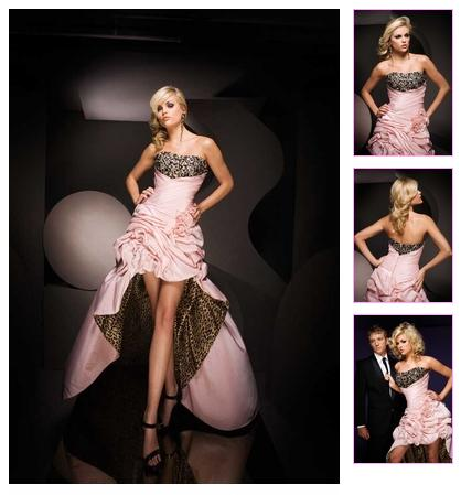 Paris Prom Dress 11069