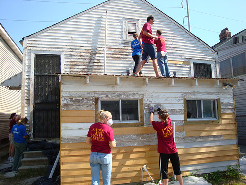 Loyola law students rebuild the Treme (by: Rebuilding Together New Orleans)