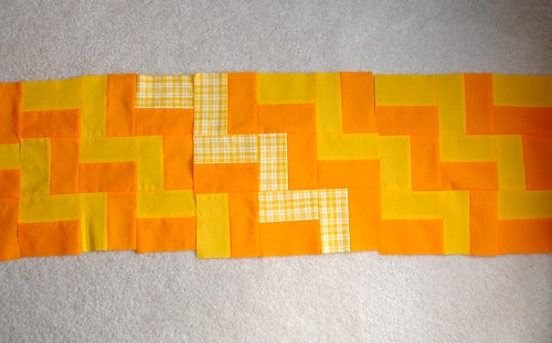 Amish Brickwork Quilt (Does Not Compute)