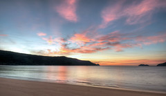 Patonga Dawn I (scatrd) Tags: beach clouds sunrise dawn cnet hdr hdri patonga projectfluffy
