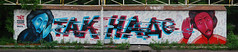Just Writing My Name Meets Taknado. Russia, Novosibirsk (Misha Mack TN) Tags: art graffiti spray fans mack      yagoda  taknado